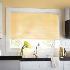 Custom Honeycomb Blinds Ivory Cellular Shades Shades The Home Depot