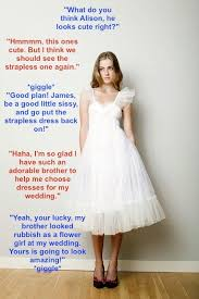 wedding captions 75 best boys wearing there beautiful satin prom gowns images