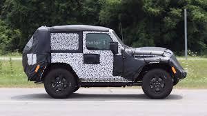 2018 jeep 2018 jeep wrangler two door spy photos motor1 com photos
