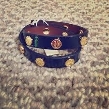 double wrap bracelet images Tory burch accessories sold double wrap bracelet in navy blue jpg