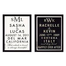 wedding announcement ideas customizable wedding announcement personalized poster for