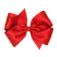 bow for hair satin hair bow 6 inch bow big satin bow large