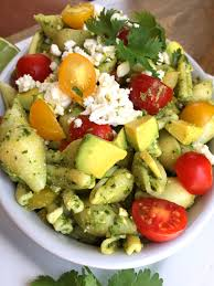 Pasta Salad Recipe Mayo by Kale U0026 Spinach Pesto Pasta Salad With Avocado Vegan Or Not