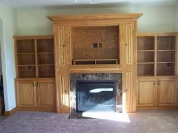 built ins around fireplace living room craftsman with built in