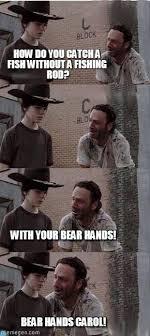 Walking Dead Meme Carl - the walking dead fish meme carl walking dead meme on memegen