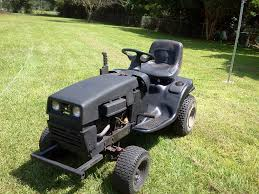 trail ride on off road lawn mower youtube
