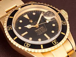 golden rolex vintage of the week gold rolex tiffany submariner 1680