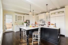 white kitchen with black island black kitchen furnishings and edgy particulars to encourage you