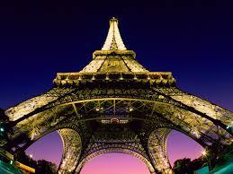 beneath the eiffel tower paris france famous wallpaper