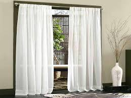Privacy Sheer Curtains Sheer Curtains For Sliding Glass Doors Curtain Panels Window