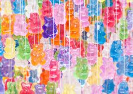 Bear Chandelier Gummy Bear Chandelier Feel Desain