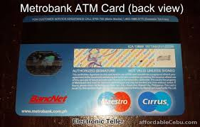 how to apply for metrobank atm card bank account banking 2031