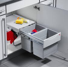 rangement poubelle cuisine hailo 3641121 collecteur de déchets tr swing 40 2 36 pour armoires