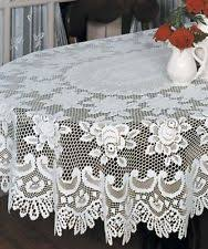 heritage lace oval tablecloths ebay