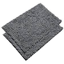 Bathroom Rugs Without Rubber Backing Soft Microfiber Shag Bath Rug Non Slip Bathroom Mat