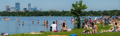 Minnesota beaches images Lake calhoun thomas beach jpg