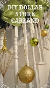 diy dollar store christmas garland u2013 vintagemeetsglam