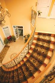 Front Staircase Design Interior Design Stair Runners In Great Traditional Staircase