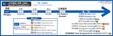 Taipei Mrt Map File Taipei Mrt Tucheng Line Route Map Svg Wikimedia Commons