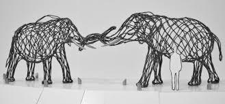 Elephant Statue Elephant Artwork To Join Iconic Giraffe Statue Dallas Zoohoo