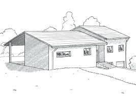 plan de maison 4 chambres avec age plan maison plain pied avec sous sol plan maison plain pied 4