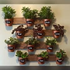indoor wall garden by homeoniship on etsy https www etsy com