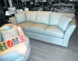 Omnia Leather Sofa Furniture Blue Leather Awesome Light Blue Leather Sofa Light