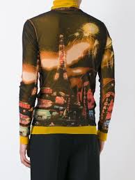 jean paul gaultier vintage paris print top men u0026 archive tops jean