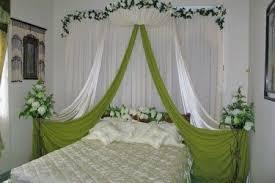 First Nite Room Decorations Indian Bridal Room Decoration Wedding Night Bedroom Romantic