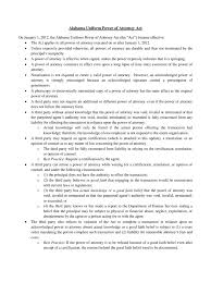 Alabama General Power Of Attorney by Statutory Power Of Attorney Form 31 Free Templates In Pdf Word