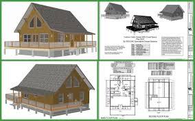 cottage design plans floor plan small log home with loft cabin homes plans designs