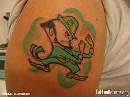 leprechaun tattoo art and designs page 7