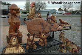 chainsaw carving demonstrations
