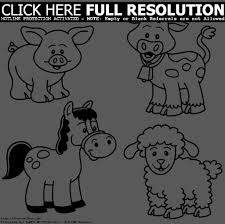 farm animal coloring site image farm pages at simply