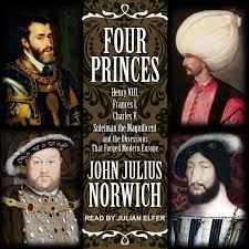 amazon com four princes henry viii francis i charles v