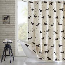 Shower Curtain Amazon Com Hipstyle Hps70 0004 Olivia Cotton Printed Shower