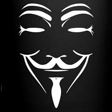 anonymous mask anonymous shop usa anonymous mask shape color mug