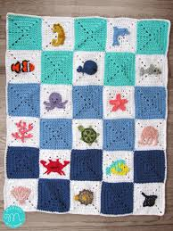 free pattern granny square afghan ocean granny square afghan maria s blue crayon