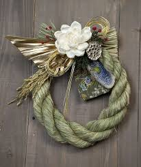 Japanese New Year Pine Decoration by
