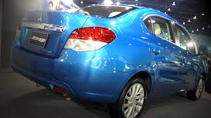 attrage mitsubishi 2014 mitsubishi attrage 1 2 78hp 3rd first auto show thailand youtube