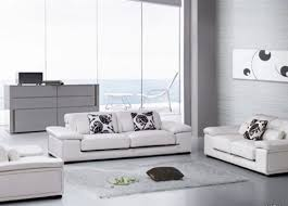 Living Room Contemporary Leather Furniture Eiforces - Best contemporary living room furniture