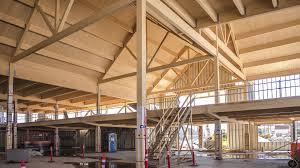 Prefab Structures Prefab Beam Glue Laminated Wood Rectangular For Floors Lam