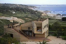 timber ventilated facade house most beautiful houses world