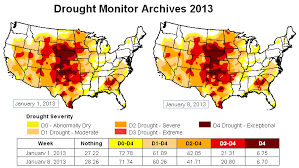 california drought map january 2016 u s drought map earth