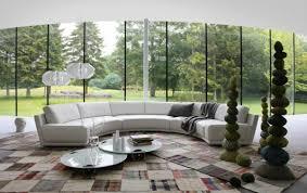 halbrundes sofa 120 wohnideen für luxuriöse wohnzimmer möbel roche bobois