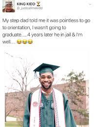 graduation invite hope you sent his bum an graduation invite blackpeopletwitter