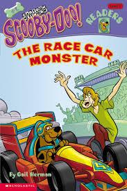 cartoon race car the race car monster by gail herman scholastic