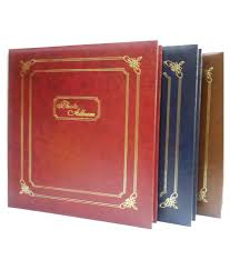 5 X 5 Photo Album Natraj Vinyl Leather Cover Photo Album 200 Pocket 5 X 7 Inch