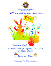 Easter Scavenger Hunt Easter Long Weekend 2017 Things To Do In Metro Vancouver