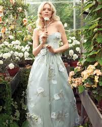 floral wedding dresses wedding dresses inspired by flowers martha stewart weddings